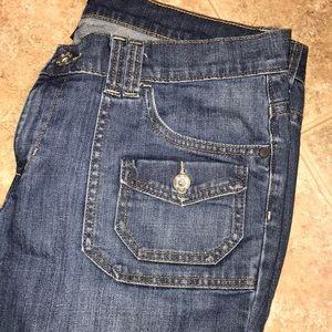 👖 a.n.a. Modern flare leg jeans size 14